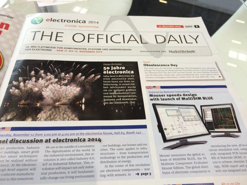 Electronica 2014 Official Daily